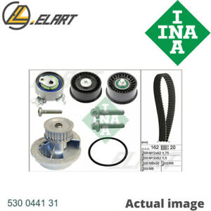 WATER PUMP TIMING BELT SET FOR OPEL VAUXHALL CHEVROLET SAAB HOLDEN Z 18 XE INA
