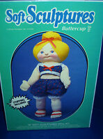 Soft Sculpture Buttercup Doll Kit 18 Inch 55002 New In Factory Sealed Box