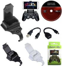 For PlayStation 3 PS3 Controller Game Pad Smart Game Clip Phone Mount Holder