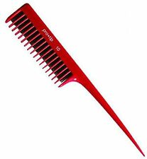 Pro-Tip RED Backcombing Teasing Hair Salon Comb No10 - 208mm