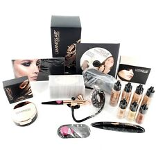 Luminess Air Icon Airbrush System Rose Gold Bundle Complete Kit Brand New