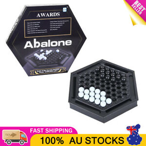 OZ Abalone Marble Strategy Game Classic Board Game Kids Adult Family Party Game