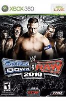 WWE SmackDown vs. Raw 2010 Xbox 360 Kids Wrestling Game Complete