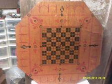 Vintage Distressed  Carrom NO.1 (E)  Archarena Game Board, Style E, No Frame