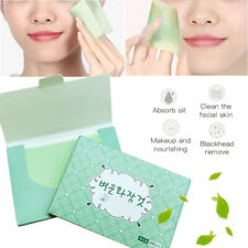 100 Sheet Facial Oil Absorbing Tissue Face  Blotting Paper Skin Cleaning Tool