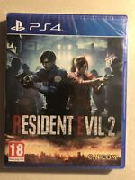 RESIDENT EVEL 2 - PlayStation 4 By:CAPCOM(New Plastic Sealed)