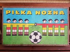 Vintage Piłka Nożna Football Tabletop Board Game from 1960's