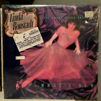 """LINDA RONSTADT - What's New (w/Hype Stickers) - 12"""" Vinyl Record LP - SEALED"""