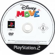 Disney Move  (PS2) Einzelne CD, minimale Gebrauchsspuren