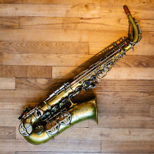 Saxophone alto vintage professionnel SML King Marigaux Gold Medal II