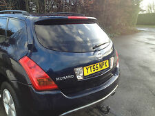 NISSAN MURANO 2005 BARE TAILGATE BOOTLID IN BLUE