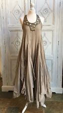 All Saints Al Yassi Parachute Beaded Evening/Occasion Dress - Rare UK Size 8
