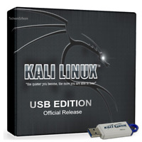 KALI LINUX 16GB USB - Sniffing-Spoofing-WiFi-Reverse Eng-Password Hacking Tools
