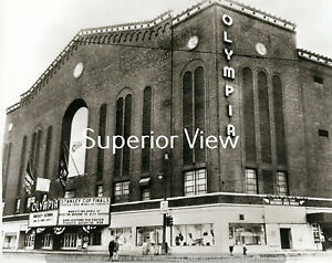 Detroit Red Wings Olympia Stadium Detroit Michigan Olympia Hockey MUST SEE