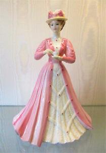 "COALPORT Figurine   "" Emily ""    23cm or 9 inches High    Excellent Condition"