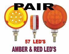 "LED Double Face ""GLO"" Turn Signal Light (Pair)  SEMI-TRUCK FENDER"