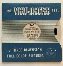 View-Master 960 Cisco Kid (Duncan Renaldo) and Pancho (Leo Carrillo) 1950 Reel