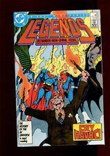 LEGENDS 4(9.2)(NM-)JOHN BYRNE-SUICIDE SQUAD-BATMAN-SUPERMAN-GUY GARDNER-DC(b029)