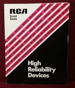 1976 RCA High Reliability Devices Databook