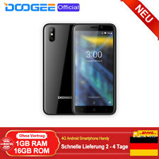 NEU 4G Smartphone Android Handy Ohne Vertrag Dual SIM 5,0 Zoll 1GB+16GB DOOGEE