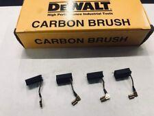 """(4) DeWalt 4 1/2 Grinder Motor Brush Sets 2pk   """" N097696 """"  DWE4011 / DWE4120"""