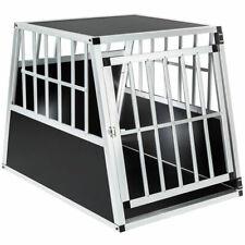 TecTake 401623 66x90x69,5 cm Cage pour Chien en Aluminium - Noire