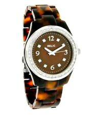 Relic by Fossil Women's ZR11893 Starla Tortoise Pattern Resin Watch