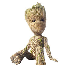 Guardians of the Galaxy Baby Groot Figure Figurine Flowerpot Pen Pot Doll Toy US