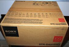 NEW SONY STR-DA3700ES 3D 7.2 CH. HOME THEATRE NETWORK RECEIVER BLACK