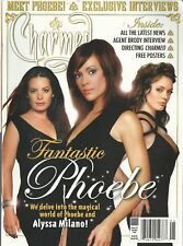 Charmed Magazine 16 April May 2007 Alyssa Milano Phoebe Interviews Posters NM