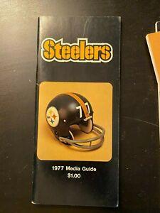 1977 Pittsburgh Steelers Media Guide