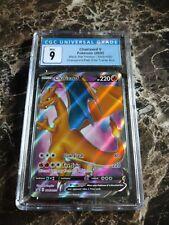 Charizard V SWSH050 CGC 9 Mint Champion's Path Elite Trainer Box Promo PSA BGS