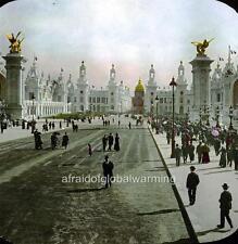Photo. 1900. France. Paris Expo - Esplanade des Invalides