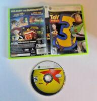 Toy Story 3 game disc w/case good shape (Microsoft Xbox 360, 2010)