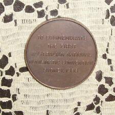 Australian Numismatic Medal 1966 Nice