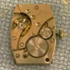 Running Gruen 487 7j Men's Wristwatch - Watchmaker Replacement Part