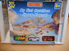 """Matchbox """"My First Matchbox"""" Set + Jigsaw Playmat in Box (German Issue)"""