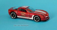 2012 Hot Wheels Loose '11 Corvette Grand Sport Coupe Red Roanoke Fire Brand New