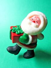 1980 Hallmark Christmas Gift Santa Merry Miniature Figurine (C234)