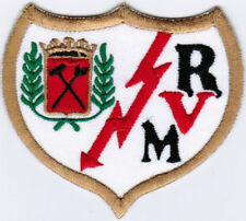 LFP La Liga Rayo Vallecano de Madrid Spain Football League Soccer Iron On Patch