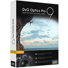 DxO Optics Pro 9 Elite, Lizenz - besser als Lightroom; OpticsPro Windows/Mac