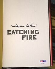 SUZANNE COLLINS SIGNED AUTOGRAPH HUNGER GAMES CATCHING FIRE BOOK  PSA/DNA V04880