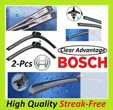"""BOSCH Clear Advantage OE-Fitment Wiper Blade (Set of 2) Front Left+Right 24""""&21"""""""