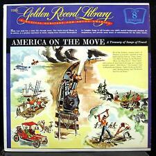 GOLDEN RECORD LIBRARY vol. 8 songs of travel LP Mint- RL 9911 Mono Vinyl America