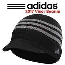 """Adidas ClimaWarm Lightweight Visor Beanie Mens Golf  Sport Winter Hat """"New 2017"""""""