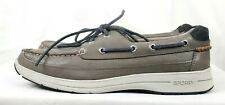 Sperry STS14747 Gold Ultralite 2-Eye Grey Men's Boat Shoes Size 9.5M US Laces