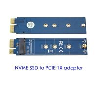 NGFF M.2 NVME SSD to PCIE 1X adapter card test card card reader