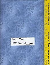 """202 TVW, 108"""" EXTRA WIDE QUILT BACKING, TONAL VINEYARD, 47603, 100% COTTON, BTY"""