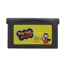 Rhythm Heaven GBA Game Boy Advance Cartridge English
