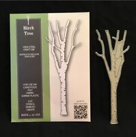 Birch Tree Metal Die Cut Poppystamps Steel Cutting Dies Bare Trees Woods Forest